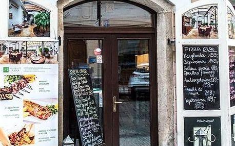 Středomořské degustační menu s pražmou královskou pro 2 osoby v centru Prahy v Ristorante Anna