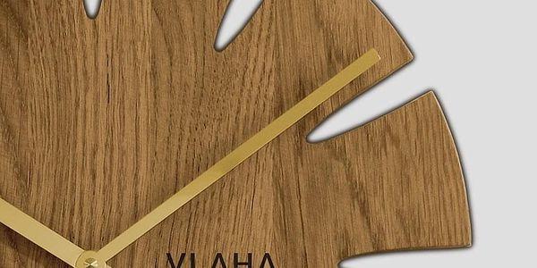 VLAHA VCT1013 Dubové hodiny2