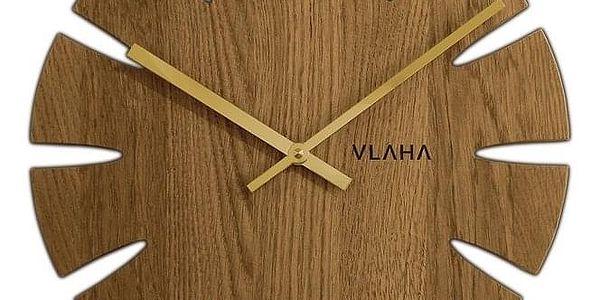 VLAHA VCT1013 Dubové hodiny