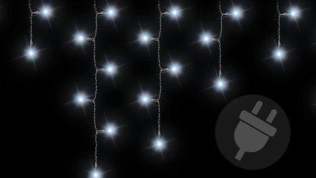 Nexos 212 Vánoční světelný déšť 72 LED studená bílá - 2,7 m