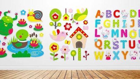 Dětské samolepky na zdi do dětského pokoje