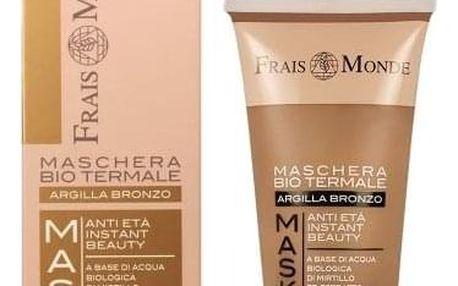 Frais Monde Organic Spa Mask Bronze Clay 75 ml bio jílová maska proti stárnutí pleti pro ženy