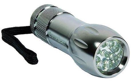 Camelion CT40044, kovová, 9x LED (397802)