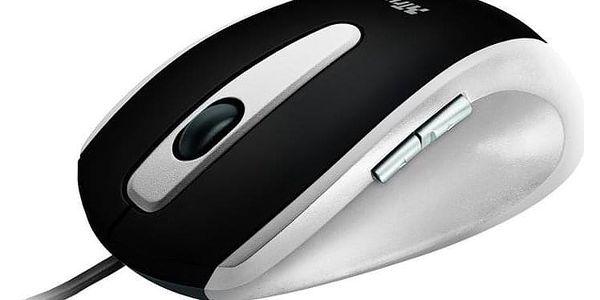 Myš Trust EasyClick černá/stříbrná / optická / 5 tlačítek / 1000dpi (16535)3