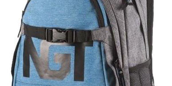 Batoh Nugget Connor blue-heather grey 26l