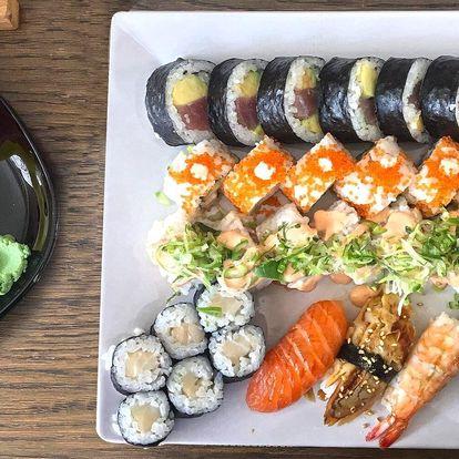 Malý i velký sushi set: 34 nebo 39 kousků