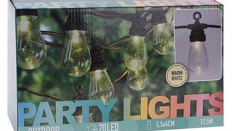 Venkovní světelný řetěz, 20 LED