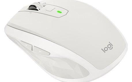 Myš Logitech MX Anywhere 2S - light grey (/ Darkfield / 7 tlačítek / 4000dpi) (910-005155)
