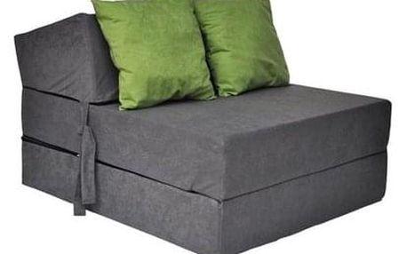 Kvalitní křeslo nebo matrace 70x200x15 cm více barevných variant Šedá