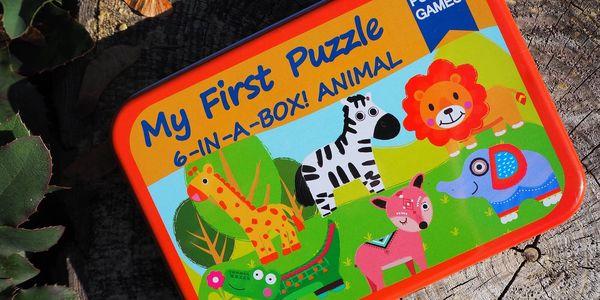 Moje první puzzle 6 v 1 - Dopravní prostředky II.5