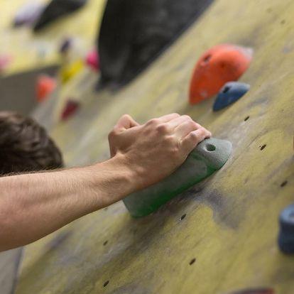 2 vstupy na lezeckou stěnu včetně vybavení