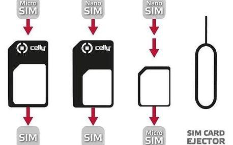 Celly z nanoSIM na microSIM a miniSIM karty SIMKITAD (SIMKITAD)