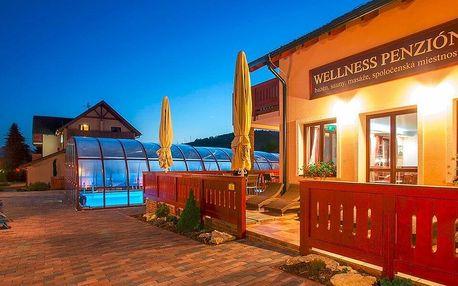 Pohoda u Bešeňové: polopenze, sauny a jacuzzi