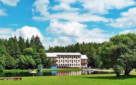 Vysočina v hotelu kousek od Toulovcových Maštalí s wellness, polopenzí + 2 děti do 11,9 zdarma