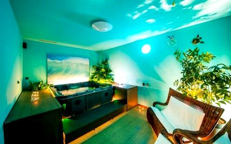 Praha: luxus v hotelu Modrá stodola **** s privátním wellness, snídaní a večeří
