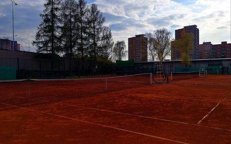 Pronájem tenisových kurtů o víkendech na 2, 4 nebo 8 hodin