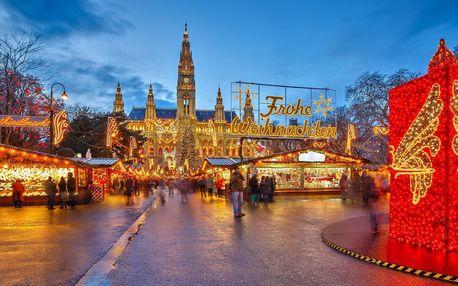 Výlet za krásami adventní Vídně s průvodcem