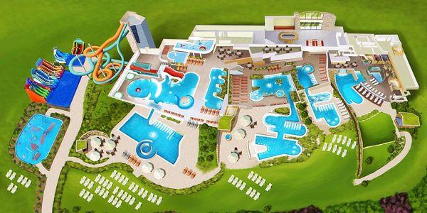 Oblíbené celodenní vstupy do aquaparku TERMA BANIA