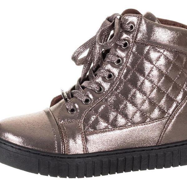Feixu Dámské sneakersy na klínovém podpatku, na platforme