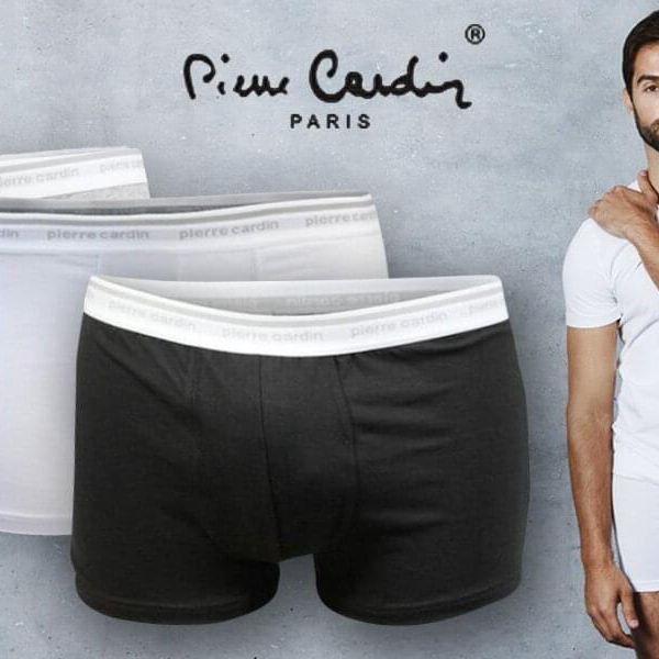 Dvoje pánské boxerky značky Pierre Cardin