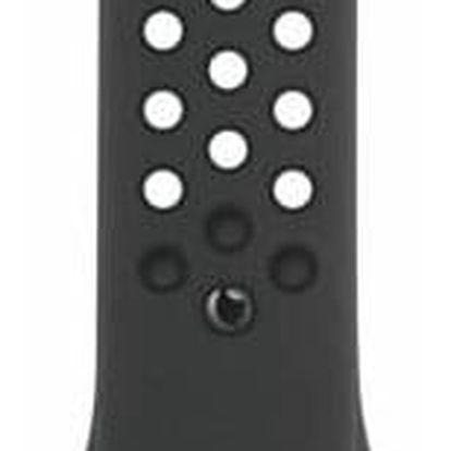 Apple Watch 44mm antracitový/černý Nike sportovní - S/M a M/L (MTMX2ZM/A)