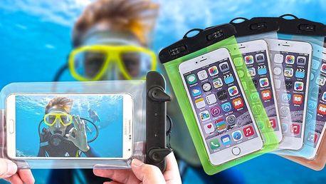 Vodotěsné pouzdro se šňůrkou na mobil a drobnosti
