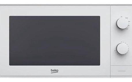 Mikrovlnná trouba Beko MOC 20100 W bílá