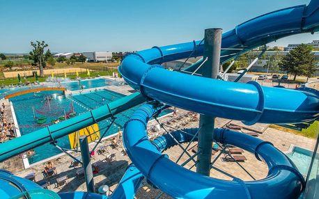 Zábava ve vodním světě a relax ve wellness v Aquaparku Trnava