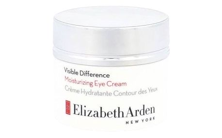 Elizabeth Arden Visible Difference Moisturizing 15 ml hydratační oční krém pro ženy