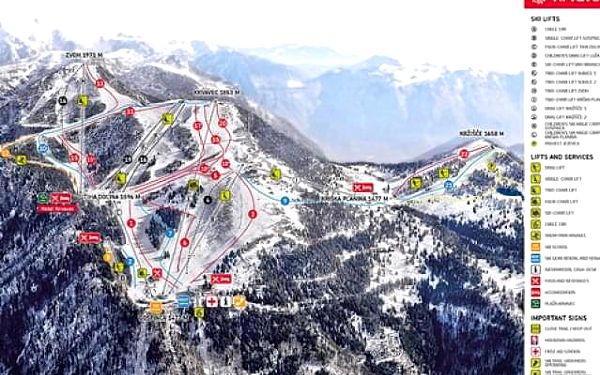 Hotel Krvavec - ZIMA, Slovinsko, Hory a jezera Slovinska, Krvavec, vlastní doprava, snídaně v ceně2