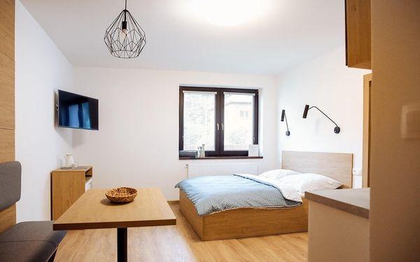 Ubytování pro DVA v designových apartmánech na Čtvrtích v Beskydech
