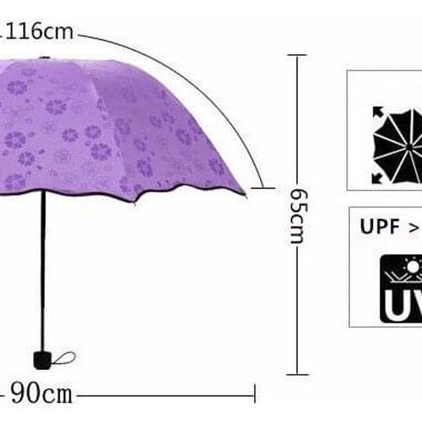 Magický deštník – zelený3