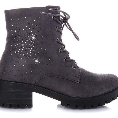 BLESS Kotníkové zimní boty Q5G Velikost: 39 (25 cm)