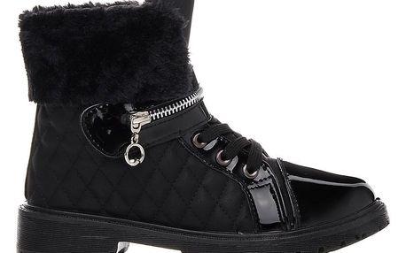 Sboty Zimní boty 5600-1B Velikost: 36 (22 cm)