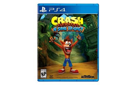 Hra Activision PlayStation 4 Crash Bandicoot N.Sane Trilogy (CEP411502)