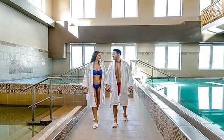 Lázně Demjén v novém Barrico Thermal Hotelu s polopenzí a termálním wellness