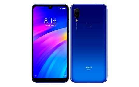 Mobilní telefon Xiaomi Redmi 7 32 GB Dual SIM modrý (22368)