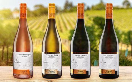 Moldavská vína samostatně i v setech až 4 lahví