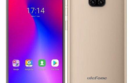 UleFone Note 7 Dual SIM zlatý (ULE000251)