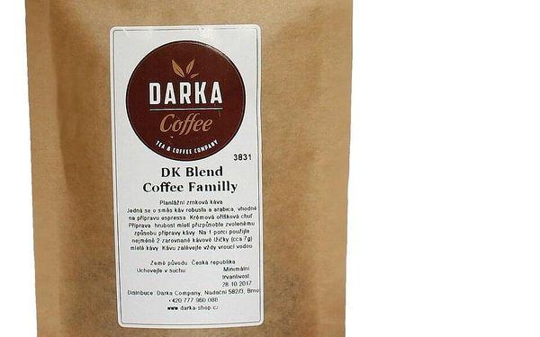 DK Blend Coffee Familly - zrnková | Velikost: 250 g5