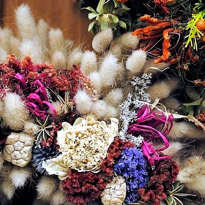 Kurz výroby podzimního věnečku na dveře