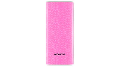 Powerbank ADATA P10000 10000mAh růžová (AP10000-DUSB-CPK)