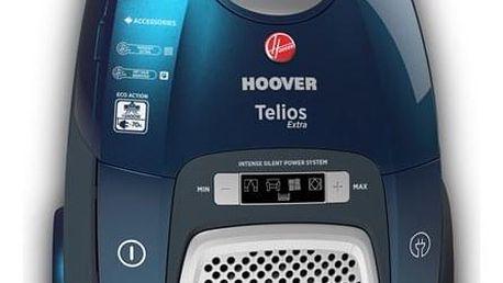 Podlahový vysavač Hoover Telios Extra TX60PET011 modrý/zelený + DOPRAVA ZDARMA