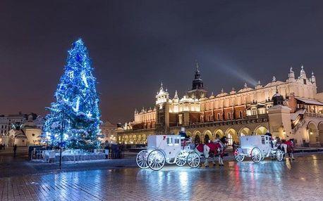 Polsko, Krakow, autobusem na 1 den