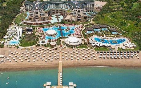 Turecko - Belek letecky na 7-9 dnů, all inclusive
