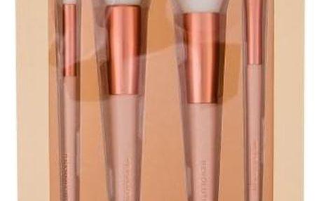 Makeup Revolution London Conceal & Define sada štětců pro líčení tváře a očí pro ženy štětec na oční stíny a korektor 1 ks + štětec na tvářenku 1 ks + blendovací štětec 1 ks + blendovací štětec na oční stíny 1 ks