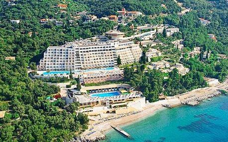 Řecko - Korfu letecky na 8-13 dnů, all inclusive
