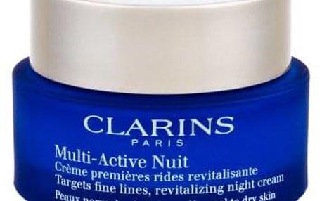 Clarins Multi-Active 50 ml noční krém proti vráskám pro normální až smíšenou pleť tester pro ženy