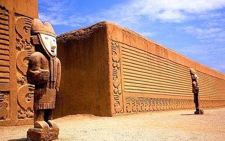 Za tajemstvím peruánských pyramid a zlatých hrobů