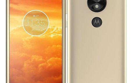 Motorola E5 Play Dual SIM zlatý (PACR0008RO)